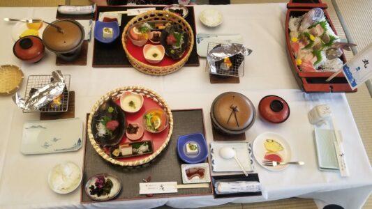 伊豆 稲取東海ホテル湯苑の部屋食ご飯♪料理極盛り!朝食