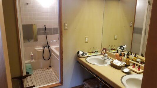 伊豆 稲取東海ホテル湯苑201号室【特別室】_部屋内風呂