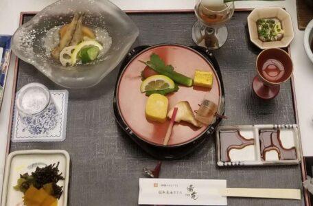 伊豆 稲取東海ホテル湯苑の部屋食ご飯♪料理極盛り!夕食_前菜色々