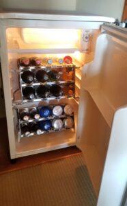 伊豆 稲取東海ホテル湯苑の冷蔵庫の中は…持込みに使える?宿泊体験記_冷蔵庫中身