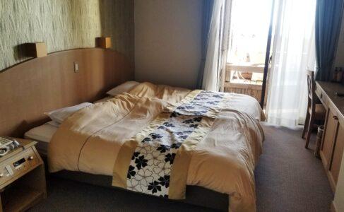 伊豆 稲取東海ホテル湯苑201号室【特別室】_寝室_ベッドルーム