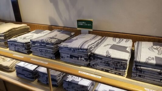 伊豆 稲取東海ホテル湯苑の館内はこんな感じでした【宿泊旅行記】ロビー浴衣3