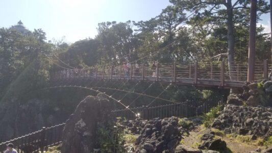 伊豆城ケ崎吊り橋1